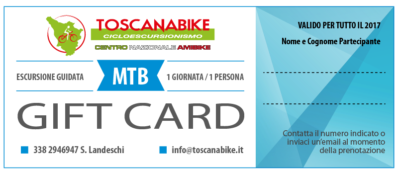 Gift Card Toscanabike