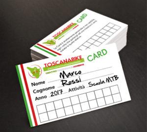 Toscanabike Card