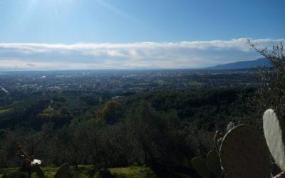 In mountain bike tra i borghi della Valdinievole