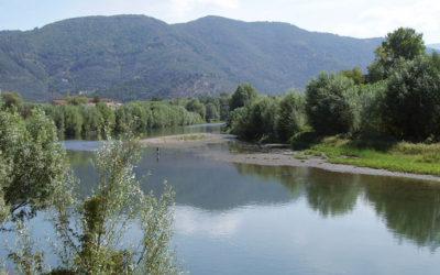 In mountain bike da Lucca a Viareggio